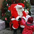 2014, visite du Père-Noël