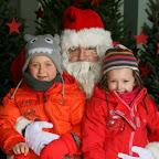 2013, Visite du Père-Noël